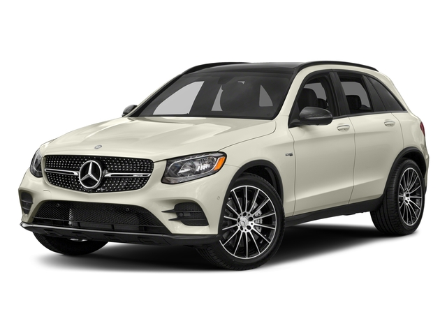 Polar White 2018 Mercedes-Benz GLC Pictures GLC AMG GLC 43 4MATIC SUV photos front view
