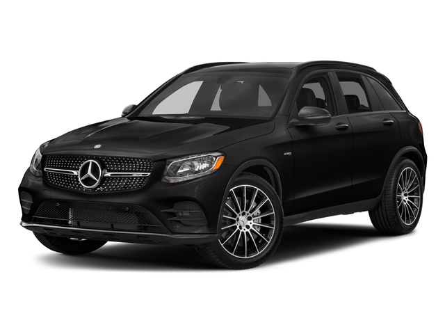 Obsidian Black Metallic 2018 Mercedes-Benz GLC Pictures GLC AMG GLC 43 4MATIC SUV photos front view
