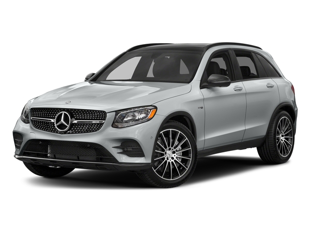 Iridium Silver Metallic 2018 Mercedes-Benz GLC Pictures GLC AMG GLC 43 4MATIC SUV photos front view