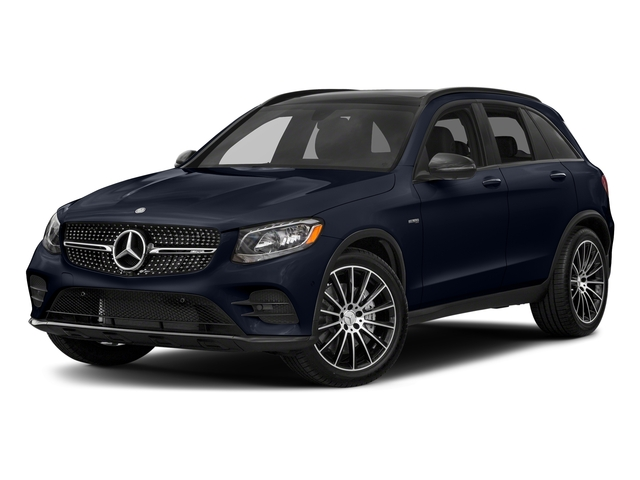Lunar Blue Metallic 2018 Mercedes-Benz GLC Pictures GLC AMG GLC 43 4MATIC SUV photos front view