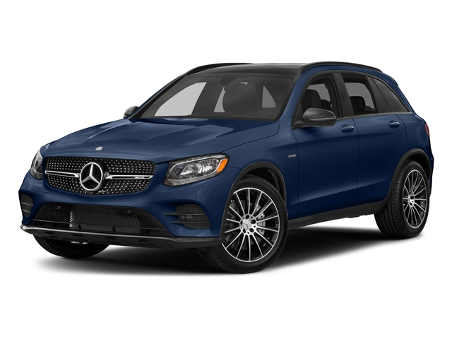 Brilliant Blue Metallic 2018 Mercedes-Benz GLC Pictures GLC AMG GLC 43 4MATIC SUV photos front view