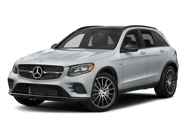 Diamond Silver Metallic 2018 Mercedes-Benz GLC Pictures GLC AMG GLC 43 4MATIC SUV photos front view