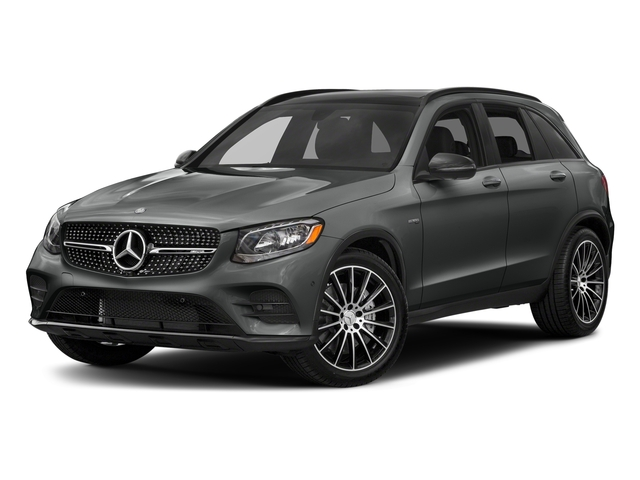 Selenite Grey Metallic 2018 Mercedes-Benz GLC Pictures GLC AMG GLC 43 4MATIC SUV photos front view