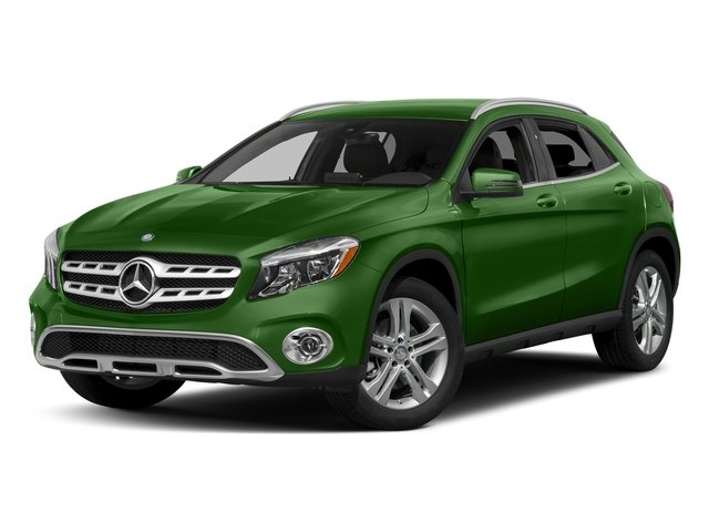 Kryptonite Green Metallic 2018 Mercedes-Benz GLA Pictures GLA GLA 250 4MATIC SUV photos front view