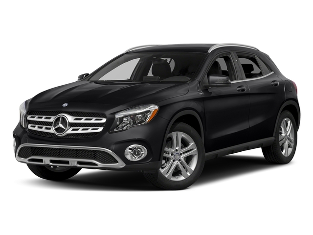 Cosmos Black Metallic 2018 Mercedes-Benz GLA Pictures GLA GLA 250 4MATIC SUV photos front view