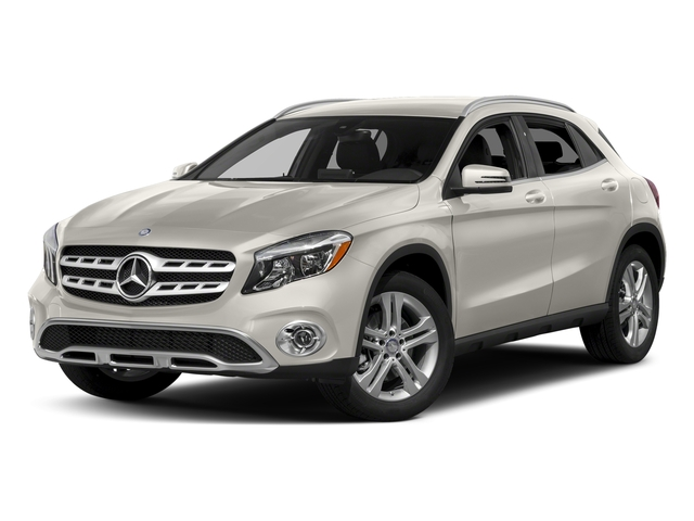 Cirrus White 2018 Mercedes-Benz GLA Pictures GLA GLA 250 4MATIC SUV photos front view