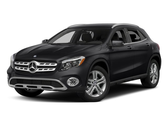 Night Black 2018 Mercedes-Benz GLA Pictures GLA GLA 250 4MATIC SUV photos front view