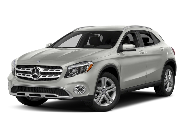 Polar Silver Metallic 2018 Mercedes-Benz GLA Pictures GLA GLA 250 4MATIC SUV photos front view