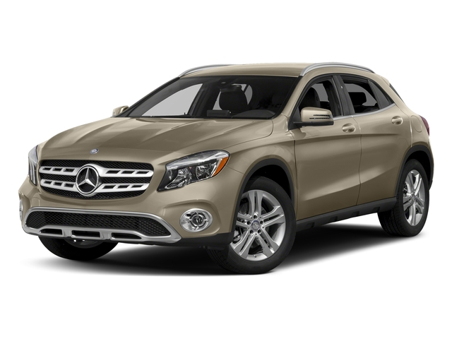 Canyon Beige Metallic 2018 Mercedes-Benz GLA Pictures GLA GLA 250 4MATIC SUV photos front view