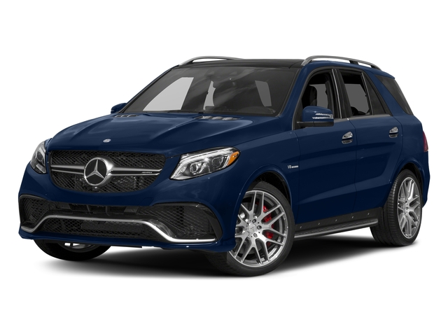 Brilliant Blue Metallic 2018 Mercedes-Benz GLE Pictures GLE AMG GLE 63 4MATIC SUV photos front view
