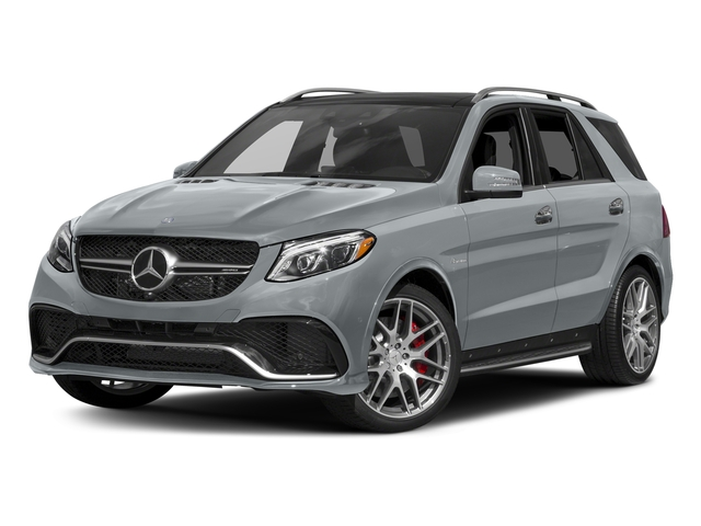 Diamond Silver Metallic 2018 Mercedes-Benz GLE Pictures GLE AMG GLE 63 4MATIC SUV photos front view
