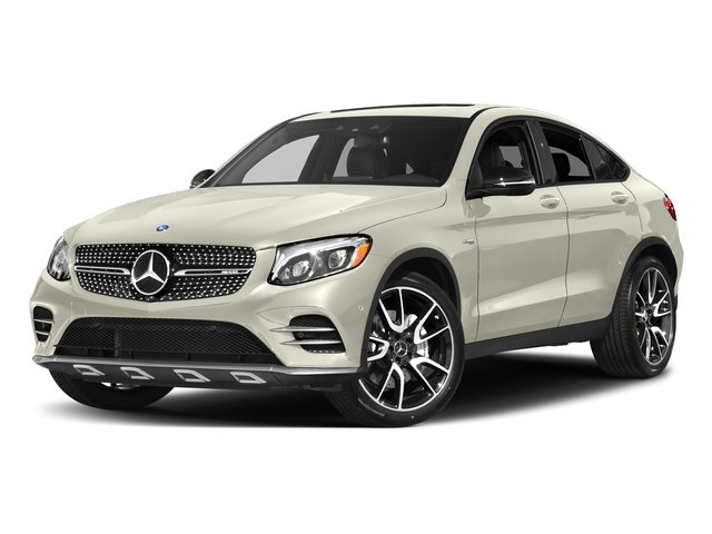 Polar White 2018 Mercedes-Benz GLC Pictures GLC AMG GLC 43 4MATIC Coupe photos front view