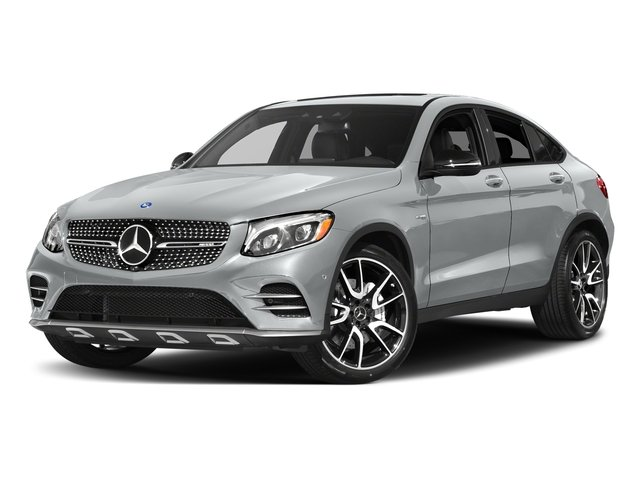 Iridium Silver Metallic 2018 Mercedes-Benz GLC Pictures GLC AMG GLC 43 4MATIC Coupe photos front view