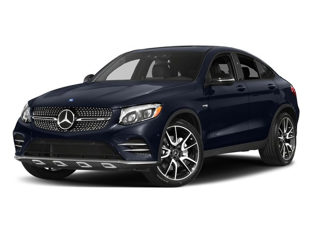 Lunar Blue Metallic 2018 Mercedes-Benz GLC Pictures GLC AMG GLC 43 4MATIC Coupe photos front view