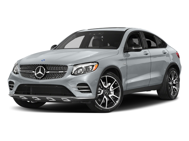 Diamond Silver Metallic 2018 Mercedes-Benz GLC Pictures GLC AMG GLC 43 4MATIC Coupe photos front view