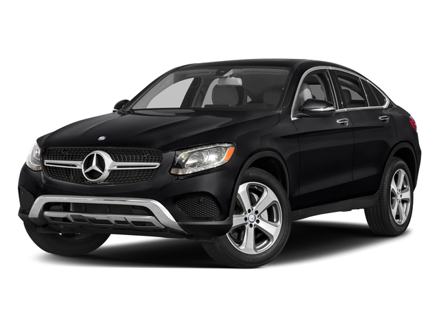Black 2018 Mercedes-Benz GLC Pictures GLC Util 4D GLC300 Sport Coupe AWD I4 photos front view