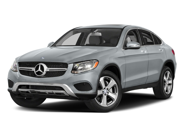 Diamond Silver Metallic 2018 Mercedes-Benz GLC Pictures GLC GLC 300 4MATIC Coupe photos front view
