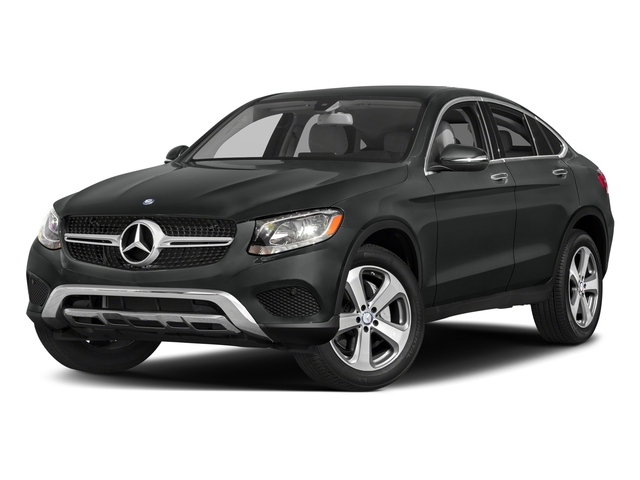 Selenite Grey Metallic 2018 Mercedes-Benz GLC Pictures GLC Util 4D GLC300 Sport Coupe AWD I4 photos front view