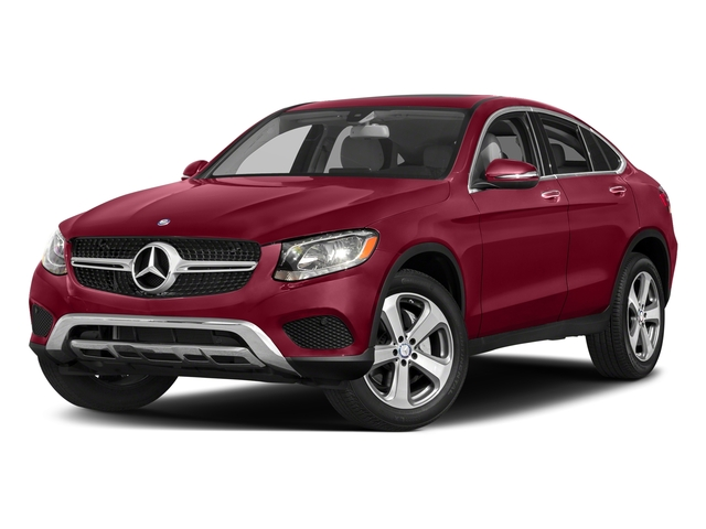 designo Cardinal Red Metallic 2018 Mercedes-Benz GLC Pictures GLC Util 4D GLC300 Sport Coupe AWD I4 photos front view