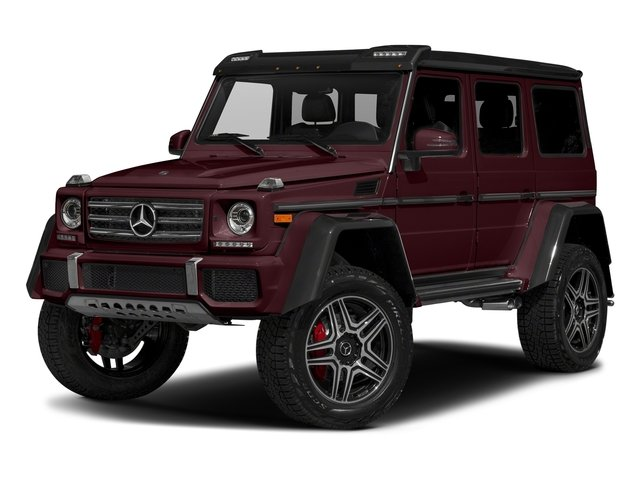 designo Mystic Red Metallic 2018 Mercedes-Benz G-Class Pictures G-Class G 550 4x4 Squared SUV photos front view