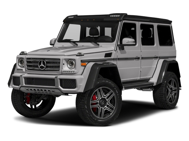 designo Platinum Magno 2018 Mercedes-Benz G-Class Pictures G-Class G 550 4x4 Squared SUV photos front view