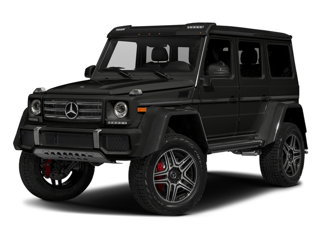 designo Night Black Magno 2018 Mercedes-Benz G-Class Pictures G-Class G 550 4x4 Squared SUV photos front view