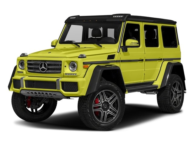 Electric Beam Exclusive High Gloss 2018 Mercedes-Benz G-Class Pictures G-Class G 550 4x4 Squared SUV photos front view