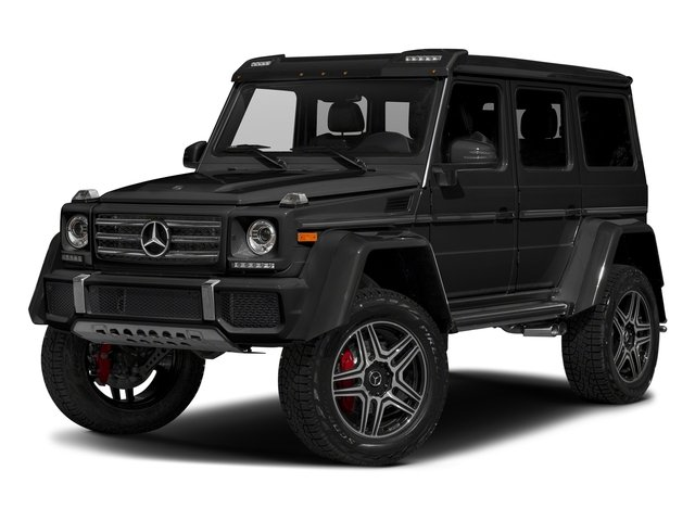 Magnetite Black Metallic 2018 Mercedes-Benz G-Class Pictures G-Class G 550 4x4 Squared SUV photos front view