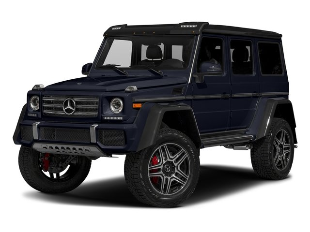 Capri Blue Metallic 2018 Mercedes-Benz G-Class Pictures G-Class G 550 4x4 Squared SUV photos front view