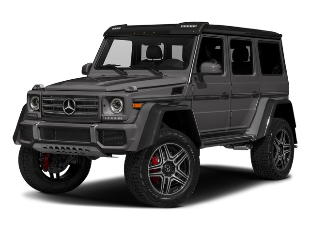 designo Manufaktur Tectite Grey Metallic 2018 Mercedes-Benz G-Class Pictures G-Class G 550 4x4 Squared SUV photos front view