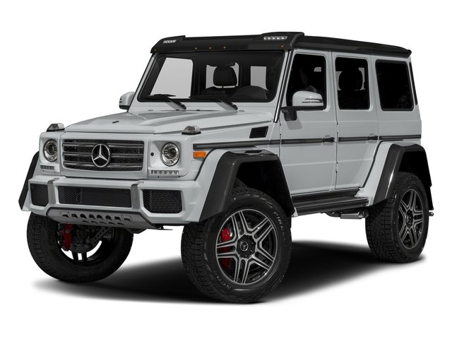Iridium Silver Metallic 2018 Mercedes-Benz G-Class Pictures G-Class G 550 4x4 Squared SUV photos front view