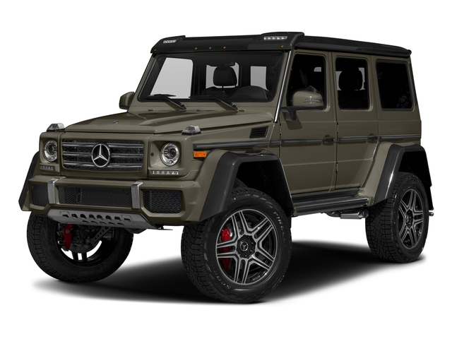 Indium Grey Metallic 2018 Mercedes-Benz G-Class Pictures G-Class G 550 4x4 Squared SUV photos front view