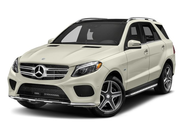 Polar White 2018 Mercedes-Benz GLE Pictures GLE Utility 4D GLE550 Plug-In AWD V6 photos front view