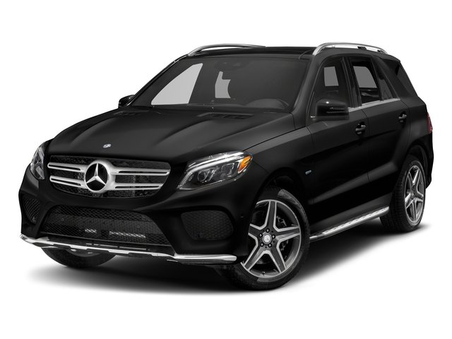 Obsidian Black Metallic 2018 Mercedes-Benz GLE Pictures GLE GLE 550e 4MATIC SUV photos front view