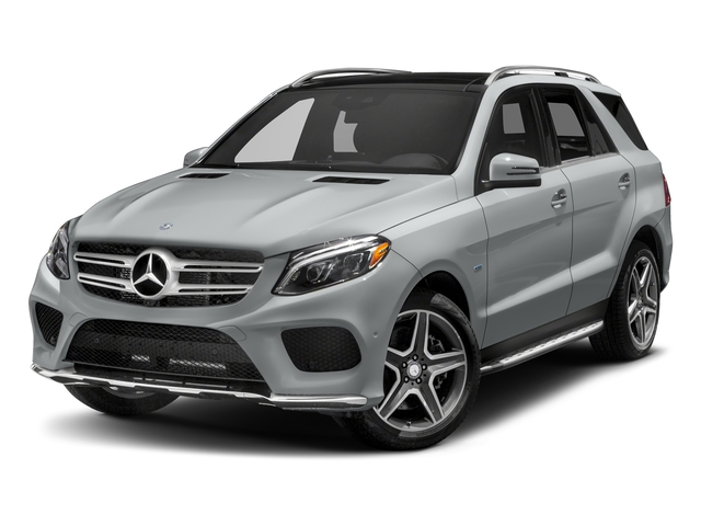 Iridium Silver Metallic 2018 Mercedes-Benz GLE Pictures GLE GLE 550e 4MATIC SUV photos front view