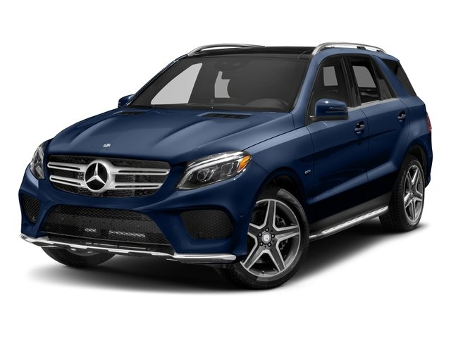 Brilliant Blue Metallic 2018 Mercedes-Benz GLE Pictures GLE GLE 550e 4MATIC SUV photos front view