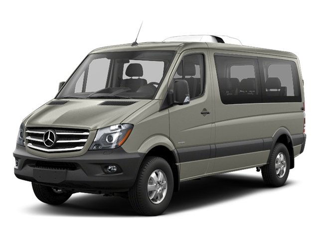 Pearl Silver Metallic 2018 Mercedes-Benz Sprinter Passenger Van Pictures Sprinter Passenger Van 2500 Standard Roof V6 144 RWD photos front view