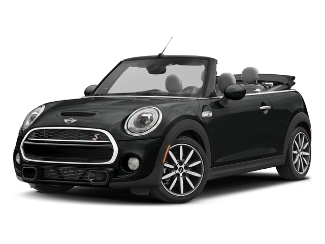 Thunder Grey Metallic 2018 MINI Convertible Pictures Convertible Cooper S FWD photos front view