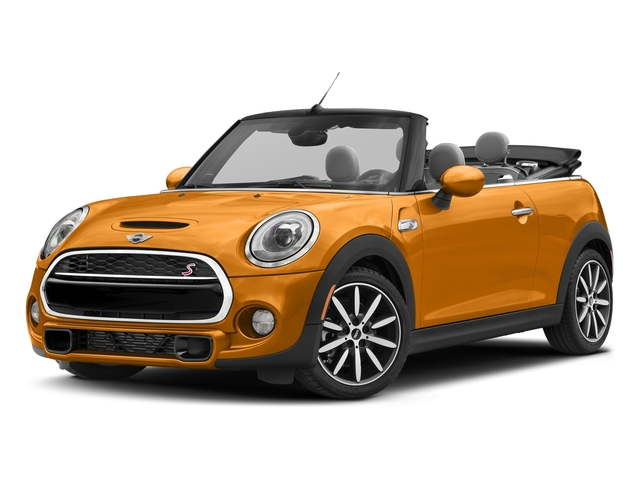 Volcanic Orange 2018 MINI Convertible Pictures Convertible Cooper S FWD photos front view
