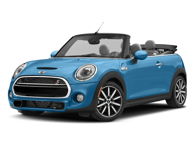 Electric Blue Metallic 2018 MINI Convertible Pictures Convertible Cooper S FWD photos front view