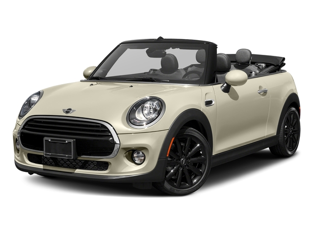 Pepper White 2018 MINI Convertible Pictures Convertible Cooper FWD photos front view