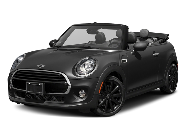 Midnight Black Metallic 2018 MINI Convertible Pictures Convertible Cooper FWD photos front view