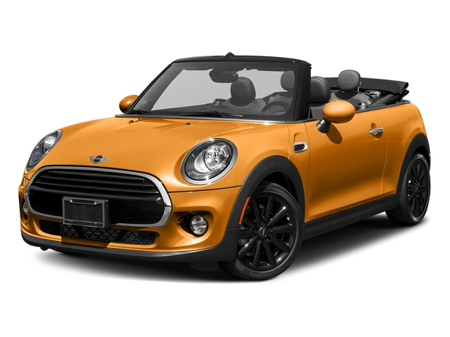 Volcanic Orange 2018 MINI Convertible Pictures Convertible Cooper FWD photos front view