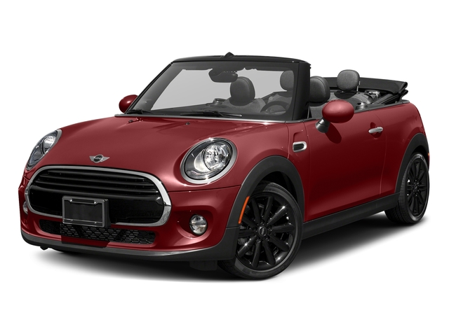 Blazing Red Metallic 2018 MINI Convertible Pictures Convertible Cooper FWD photos front view