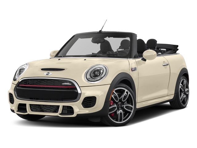 Pepper White 2018 MINI Convertible Pictures Convertible Convertible 2D JCW I4 Turbo photos front view