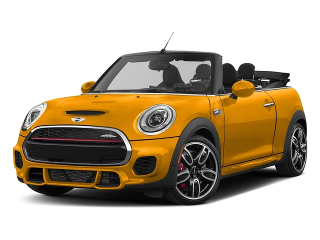 Volcanic Orange 2018 MINI Convertible Pictures Convertible Convertible 2D JCW I4 Turbo photos front view