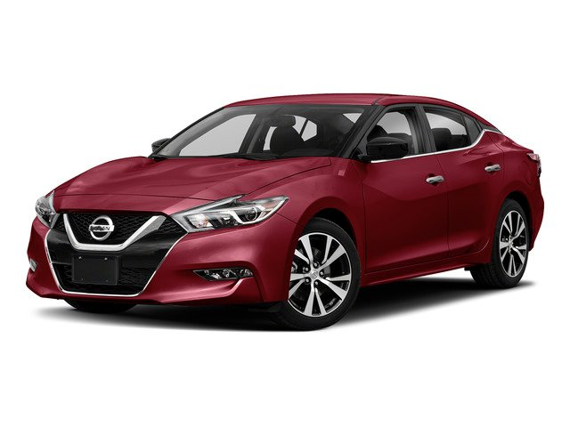 Carnelian Red 2018 Nissan Maxima Pictures Maxima S 3.5L photos front view