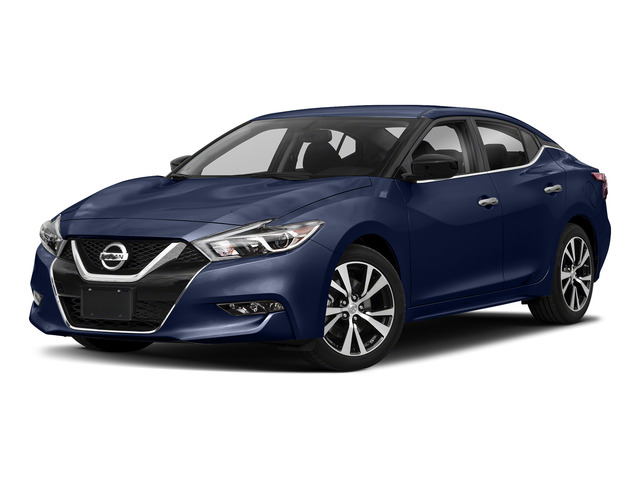 Deep Blue Pearl 2018 Nissan Maxima Pictures Maxima S 3.5L photos front view