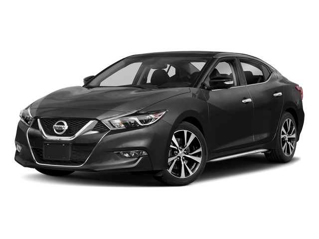 Gun Metallic 2018 Nissan Maxima Pictures Maxima Platinum 3.5L photos front view