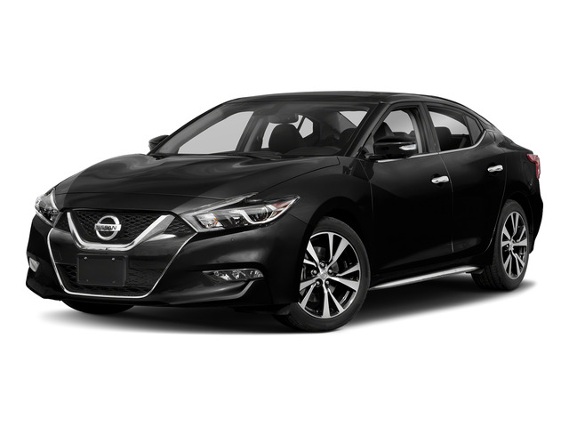 Super Black 2018 Nissan Maxima Pictures Maxima Platinum 3.5L photos front view